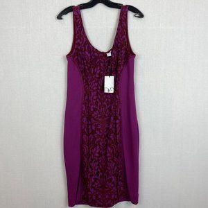 DIANE VON FURSTENBERG Purple Dress NWT